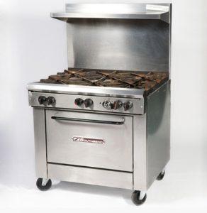 6 Burner Stove/Oven (w/Propane)