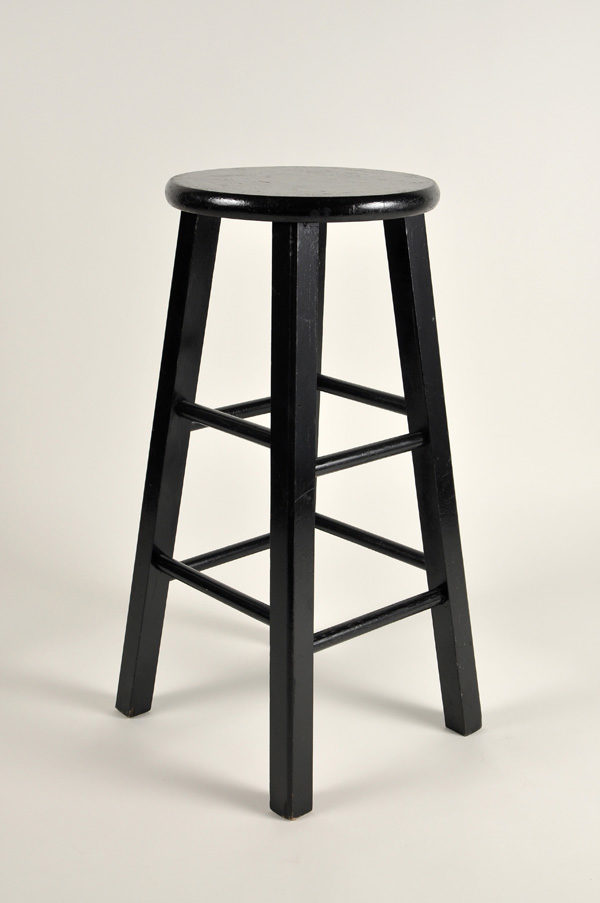 Bar Stool, Standard (Black)