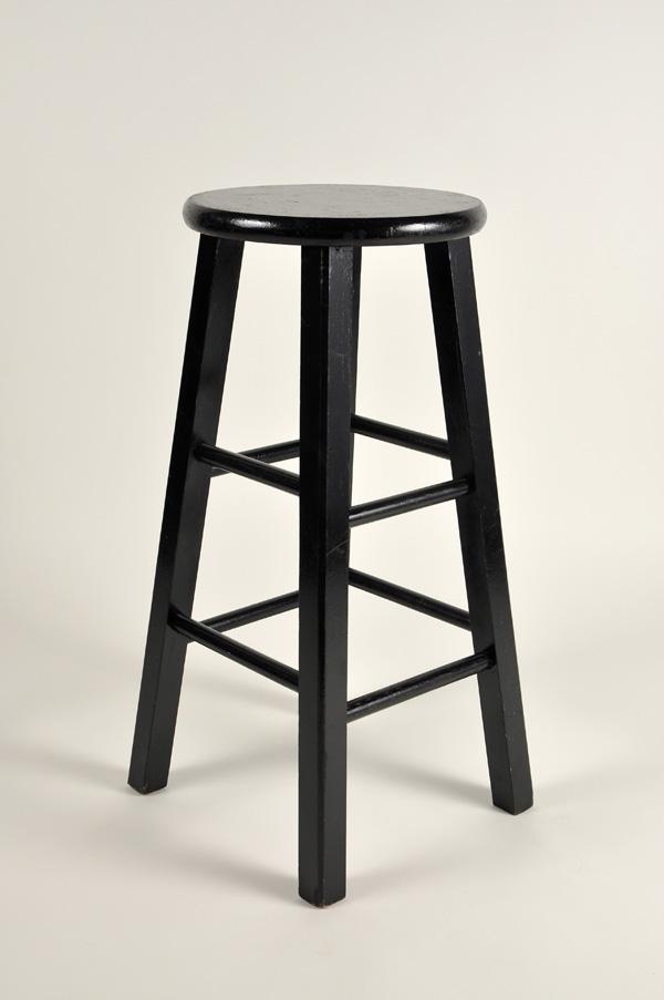 Bar Stool, Standard (Black)