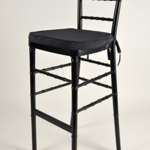 Chivari Bar Stool Black