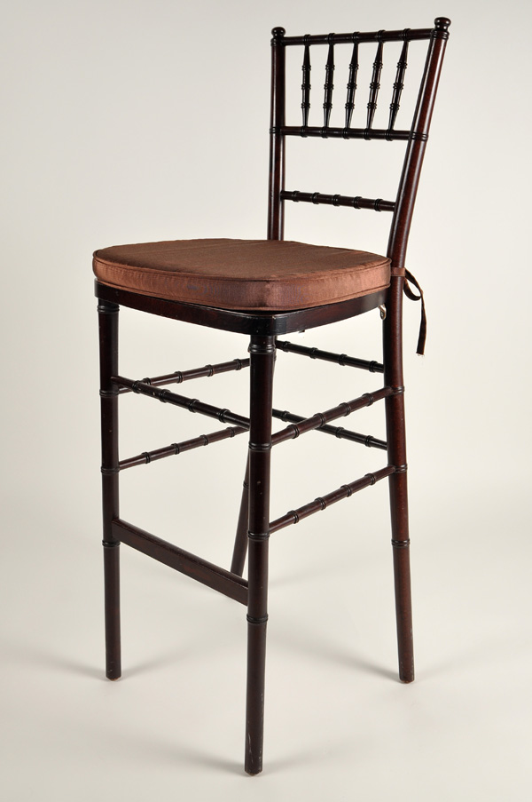Chivari Bar Stool Mahogany