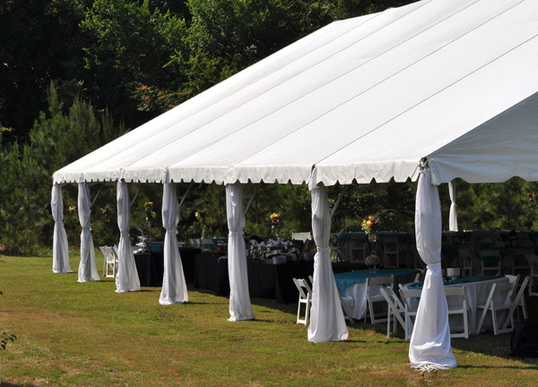 Tent Leg Drapes Professional Party Rentals