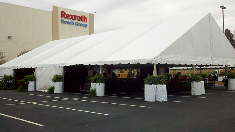 50 Gable Frame Tent Professional Party Rentals