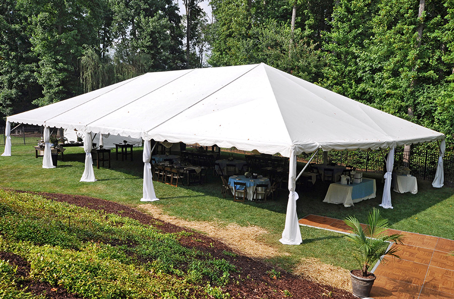 40u2032 Traditional Frame Tent & 40u2032 Traditional Frame Tent u2013 Professional Party Rentals