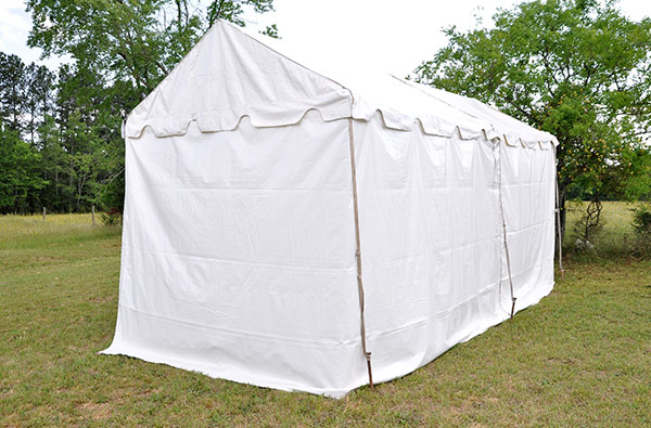 White Sidewall Per Lin Ft Professional Party Rentals