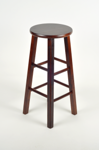 Bar Stool, Standard (Mahogany)