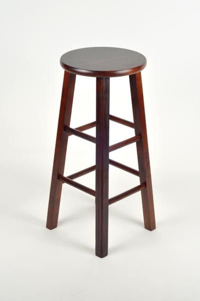 Bar Stool, Standard (Mahogany)