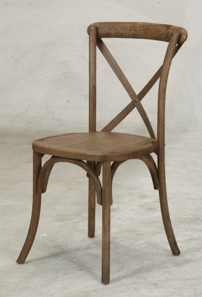 Chair, Driftwood X-Back