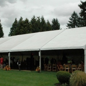 30u2032 Gable Frame Tent & GABLE FRAME TENTS u2013 Professional Party Rentals