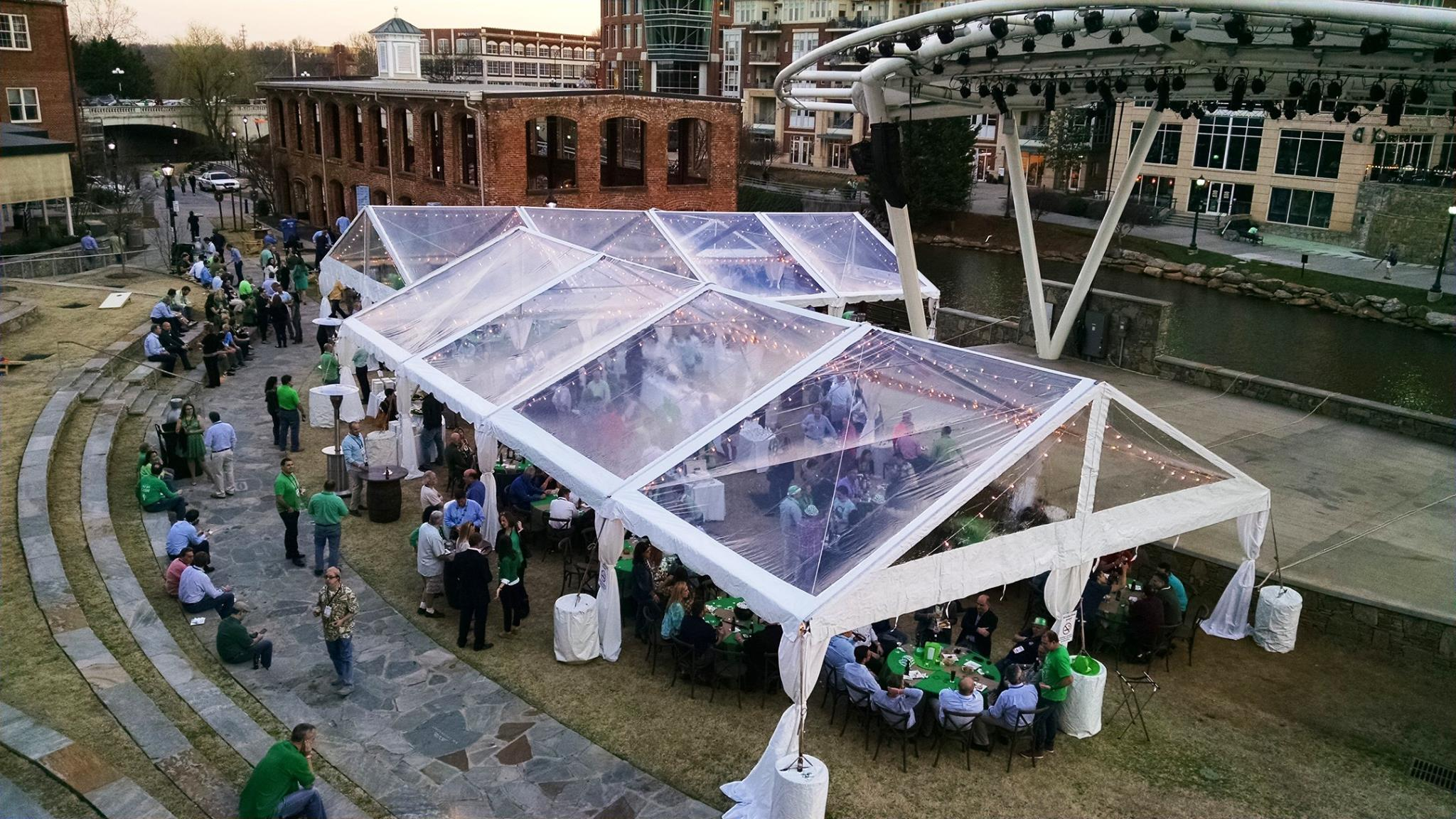 30 Clear Gable Frame Tent Professional Party Rentals