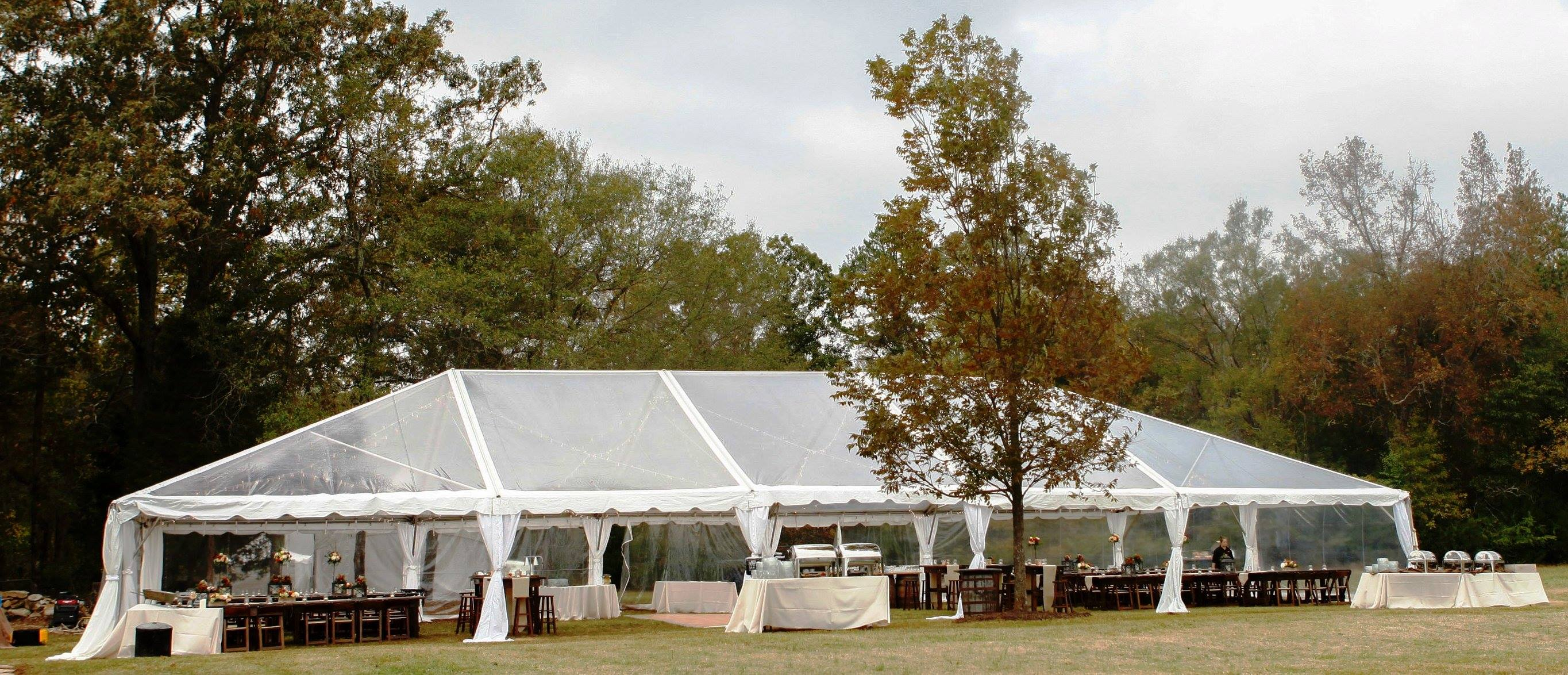 40 Clear Traditional Frame Tent Professional Party Rentals