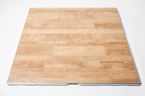 Dance Floor Birch Wood 4x4 Section Professional Party Rentals