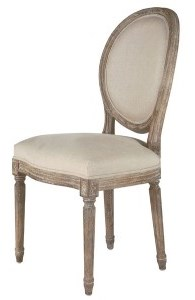 Exceptionnel King Louis Chair U2013 W/ Fabric Back