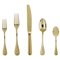 GOLD SAVOY FLATWARE