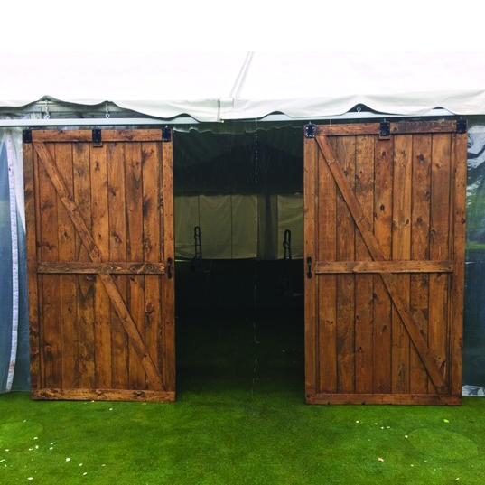 Barn Doors Set Of 2 9 X5 Professional Party Rentals