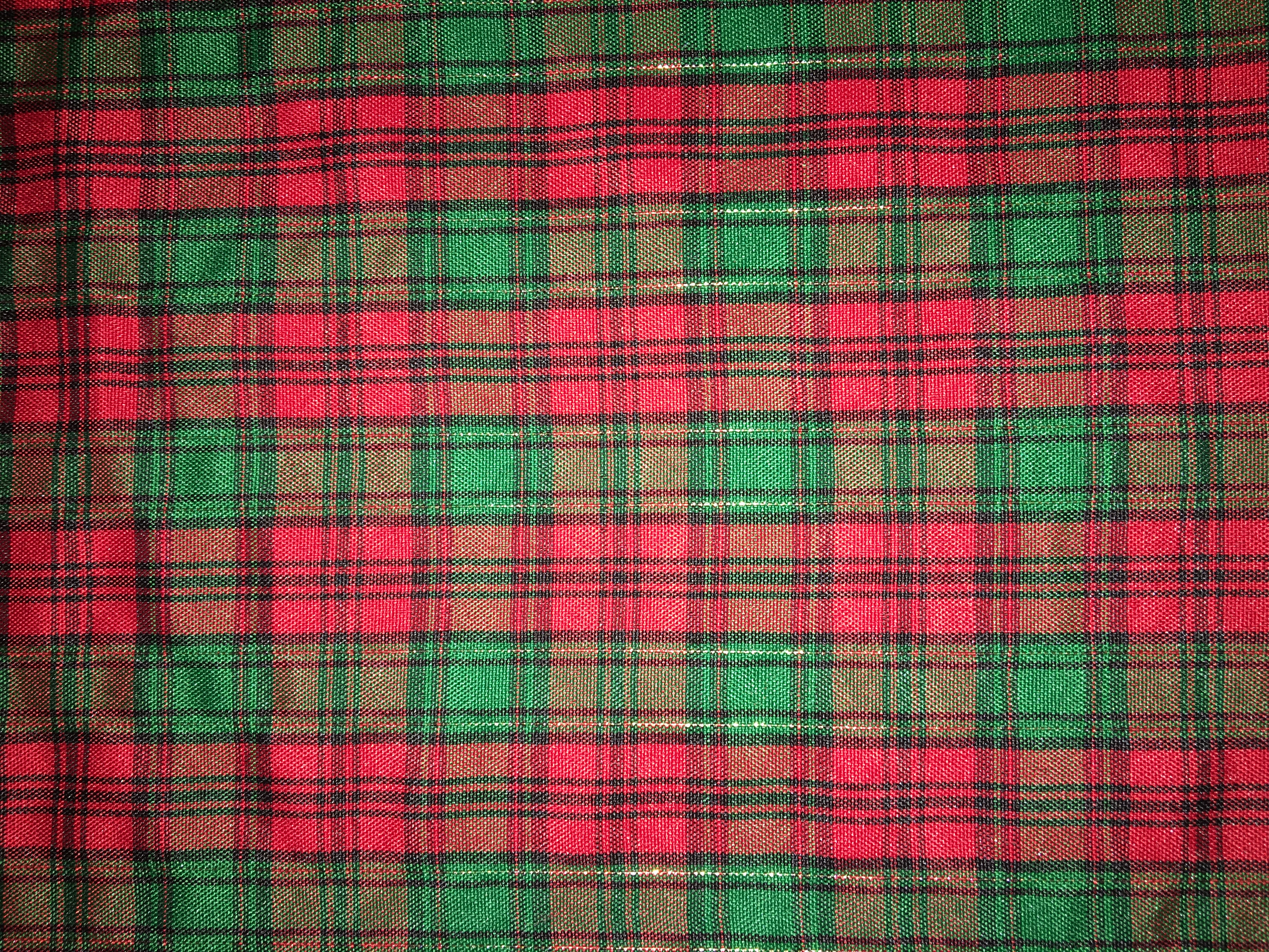 Tartan Plaid Red Green Gold Professional Party Rentals