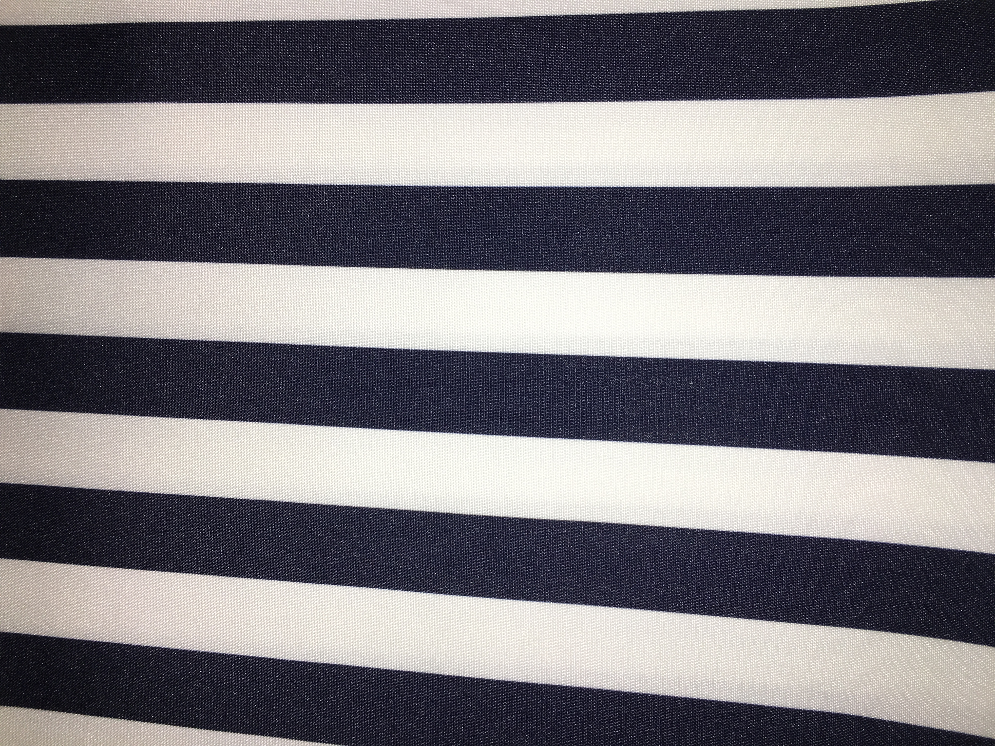 Awning Stripe Navy White Professional Party Rentals