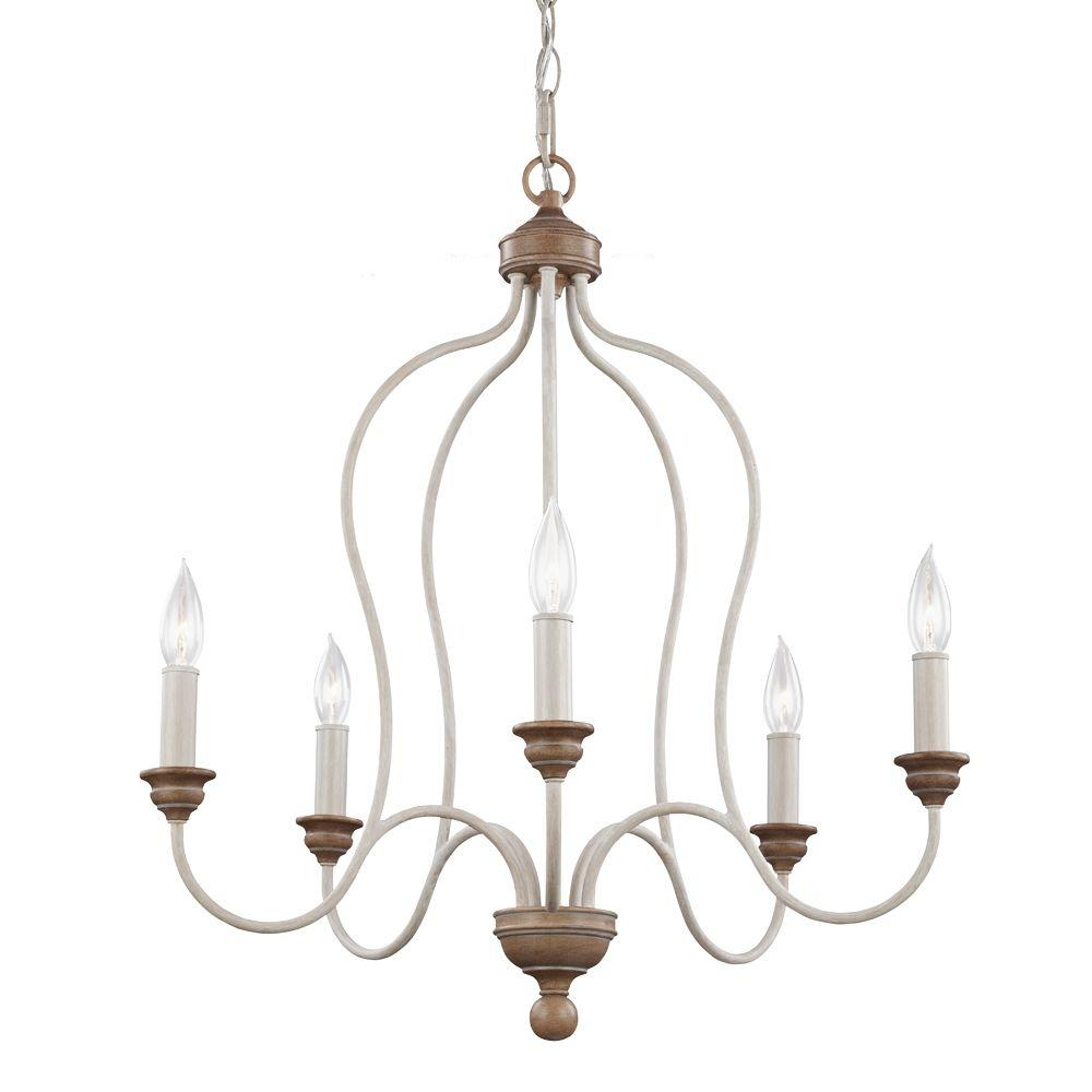 Beachwood chandelier distressed white 24w x 26t professional beachwood chandelier distressed white 24w x 26t mozeypictures Images