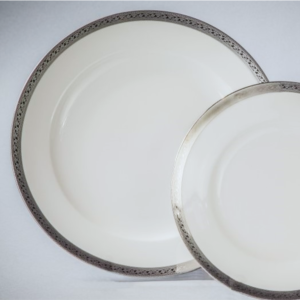 DUCALE (WHITE/ SILVER)